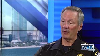Chief Flynn on police pursuit policy - Video