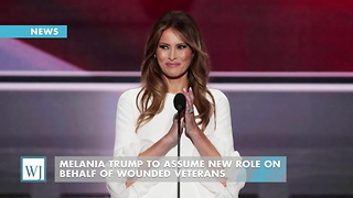 Melania Trump To Assume New Role On Behalf Of Wounded Veterans - Video