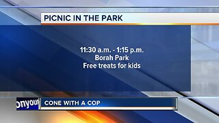 HAPPENING TODAY: Boise Police hosting Cone With a Cop event
