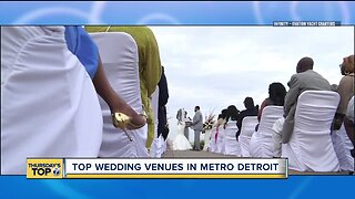 Top wedding venues in metro Detroit
