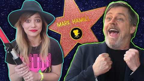 Mark Hamill Super Fans See Their Hero Get His Hollywood Star | NerdWire Presents