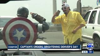 Superhero 'Colorado Captain' hitting the road to raise money for kids with cancer - Video
