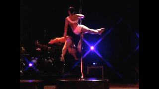 Male Pole Dancers Hit The Stage - Video