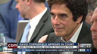 Opening arguments wrapped up in David Copperfield trial