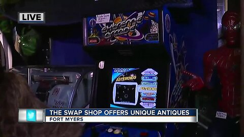 The Swap Shop offers unique antiques in Fort Myers - 7:30am live report