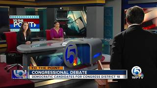 Congressional Debate - Democratic candidates for Congress District 18 - Part 2