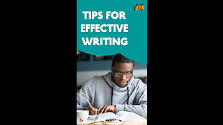 Top 5 Tips To Improve Writing Skills *