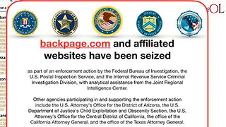 Backpage.com Seized By Feds - Video