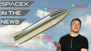 Elon Musk Hopeful Starship Will Survive Upcoming First Flight | SpaceX in the News