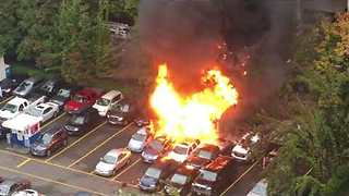 Portland Fire Causes Propane Canisters to Explode