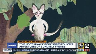 """The Nocturnals"" book series follows adventures of three unlikely friends"