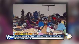 Local church starts refugee shelter network - Video