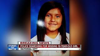 National City girl, 10, reported missing - Video