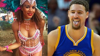 Klay Thompson HOOKING UP with NBA on TNT Reporter!? - Video