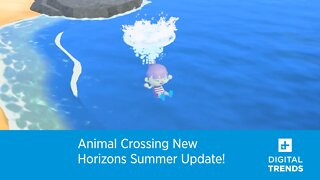 Animal Crossing New Horizons Summer Update!