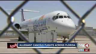 Allegiant Air cancels some Florida flights - Video