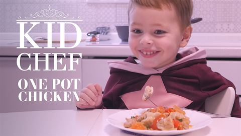 Kid Chef: How (not) to make one-pot chicken