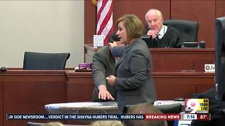 Shayna Hubers convicted of murder - Video