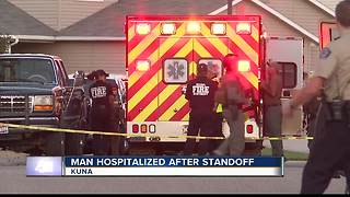 Man shoots self after five hour standoff in Kuna - Video