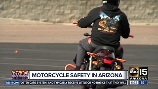 Motorcycle safety training could save lives