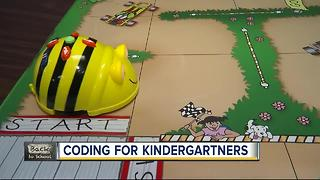 Coding for kindergartners? Pinellas County tykes are learning computer programming skills - Video