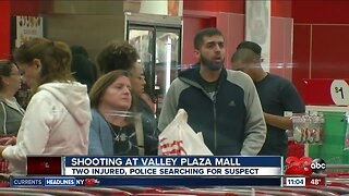 Two shot in Valley Plaza Mall shooting in Bakersfield Monday evening