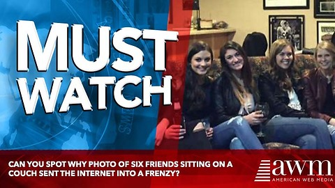 Can You Spot Why Photo Of Six Friends Sitting On A Couch Sent The Internet Into A Frenzy?