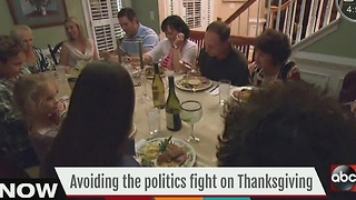 Avoiding the politics fight on Thanksgiving - Video