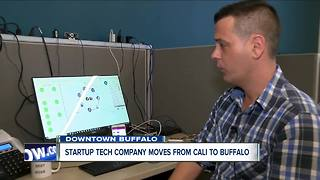 Tech company moves from Cali to Buffalo - Video