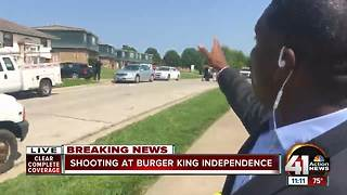 Shooting outside Burger King Independence - Video