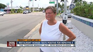 Local beach bar worker tests positive for Hep A