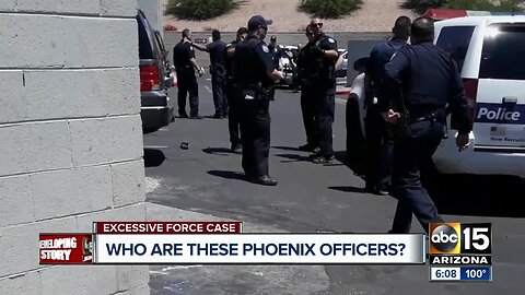 Who are Phoenix officer involved in shoplifting incident
