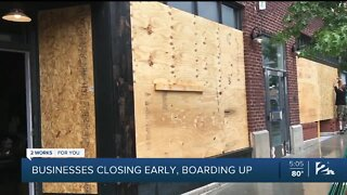 Downtown businesses shutting down temporarily ahead of Trump rally in Tulsa