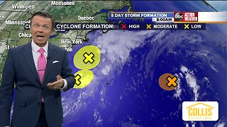 Tracking the Tropics | October 9 Morning Update