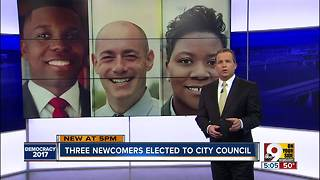 How did these three win a seat on city council?