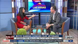 Boyd Gaming Honors Veterans with Free Meals today