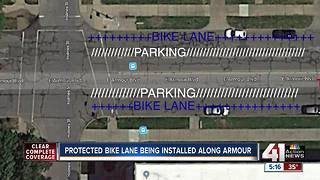 City Council approves first protected bike lanes along Armour Blvd - Video
