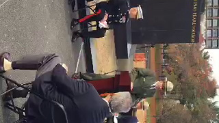 New engravings on the Marine Corps War Memorial are unveiled. - Video