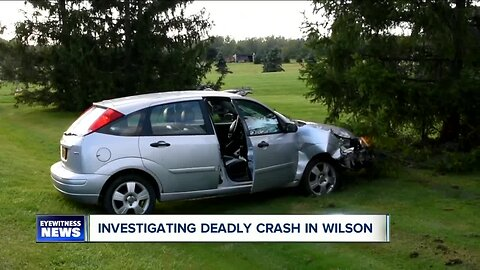 Fatal accident in Town of Wilson