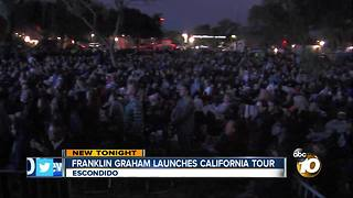 franklin graham launches california tour