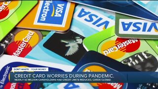 Credit card worries during pandemic