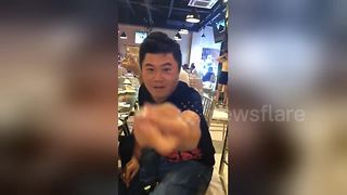 Man Shows Off Impressive Magic Tricks With Rings - Video