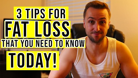 Lose Weight FAST | 3 Tips To Help You Stick To Your Diet (2018)