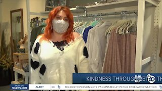 Kindness through retail therapy