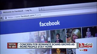 Concern for romance scams grows as more people stay home