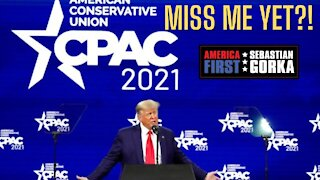 The CENSORSED Donald Trump CPAC 2021 Speech.