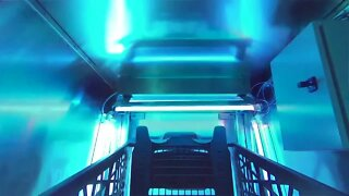 Machine developed to disinfect shopping carts with UV light