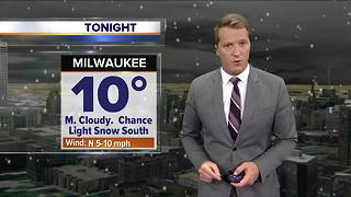 Most snow ending, but flurries possible tonight - Video