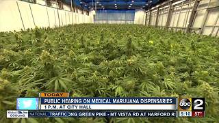 Hearing on City medical marijuana dispensaries
