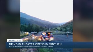 Minturn Drive-In opens tonight